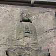 19 日暮里長安寺にて 三界萬霊塔の部分