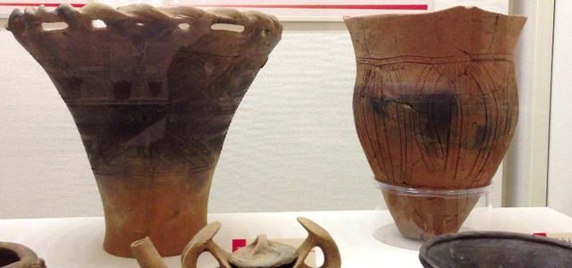 12 貝の花貝塚の縄文後期土器 1